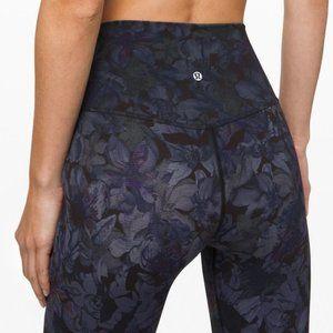 "lululemon Align Pant 28"" ombre floral legging NWT"